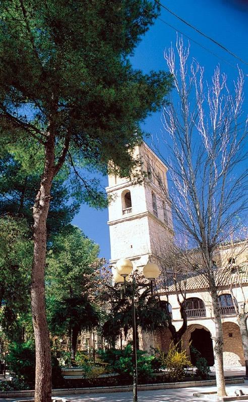 Daimiel, Iglesia de Santa María La Mayor